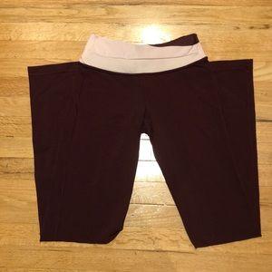 Lululemon Maroon Pants